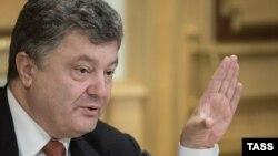Президент Украины Петр Порошенко. Киев, 16 сентября 2015 года.