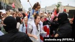 Жіночий марш солідарності відбувся у Мінську