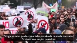 Protesti u Srbiji: 'Budimo realni – tražimo nemoguće'