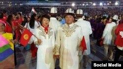 Кыргыз спортчулары Рио-де-Жанейродо.