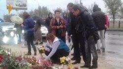 Жители Волгограда поминают погибших