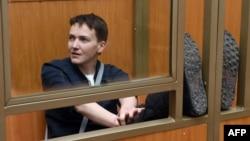 Надія Савченко в суді, 22 березня 2016 року