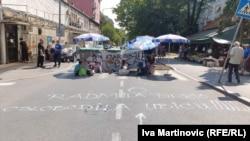 Protestom u Beogradu traže kaznu za vozača koji je usmrtio dečaka