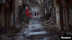 Сирійське місто Дейр ез-Зор, 19 травня 2013 року