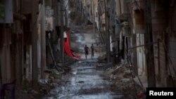 Сириядагы Деир ал-Зор шаары, 19-май, 2013-жыл
