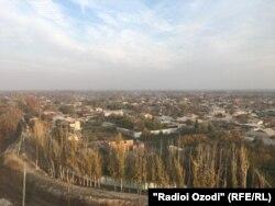 Строительство нового промышленного объекта в поселке Дангара.