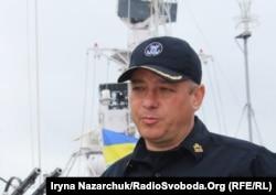 Контр-адмірал Олег Костур, начальник регіонального управління морської охорони