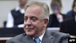 Ivo Sanader tokom izricanja presude