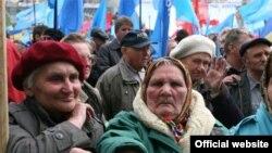 По данным МВД Украины, с начала политического кризиса на различных митингах побывали четверть миллиона украинцев