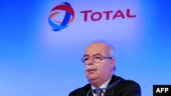 Christophe de Margerie, the late CEO of the French oil group Total (file photo)