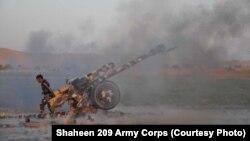 آرشیف، عملیات نیروهای افغان در یکی از ولایات افغانستان