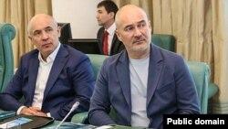 Айрат (с) һәм Радик Шәймиевләр