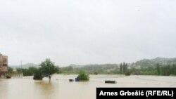 Posljedice poplava u Doboju, arhivska fotografija