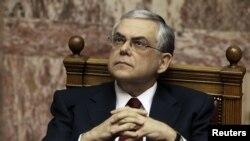 Новый премьер-министр Греции Лукас Пападимос