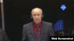 Idriz Merdžanić na suđenju Mladiću, 1. listopad 2012.
