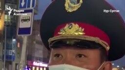 """""""Я не видел"""". Замначальника столичного ДП Малыбаев комментирует задержания"""