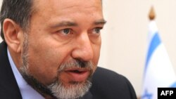 آويگدور ليبرمن، وزير امور خارجه اسرائيل