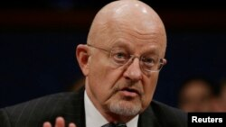 Директор Национальной разведки США генерал в отставке Джеймс Клаппер. Вашингтон, 4 февраля 2014 года.