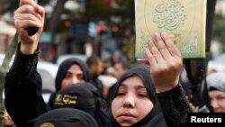 Протесты в секторе Газа. 11 декабря 2017 года.