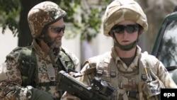 نیروهای ایساف در افغانستان. (عکس:EPA)