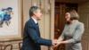 Liderul opoziției belaruse, Svetlana Țihanovskaia, s-a întâlnit cu secretarul de stat american, Anthony Blinken