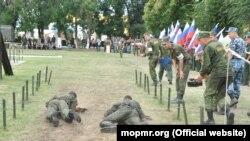 La instrucția unor militari în regiunea transnistreană