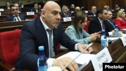 Эдуард Бабаян в парламенте, январь 2019 г.