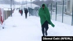 شماری از پناهجویان در بوسنیا هزره گوینا