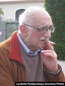 Александр Пятигорский в Ницце, 2008. Фото Людмилы Пятигорской