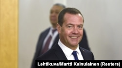 Россия бош вазири Дмитрий Медведев.