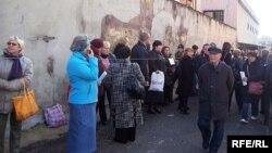 Українські заробітчани в Італії. В очікуванні роботи