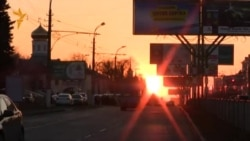 """Акция """"За единую Украину"""" в Луганске"""