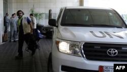 Inspektori UN-a u Siriji, septembar 2013.