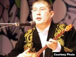 Айтыскер ақын Сағадат Нұрманов. Алматы, 22 наурыз 2010 жыл.
