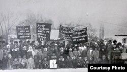 Ленин дүйнө салган күн, Пржевальск, 1924-жыл