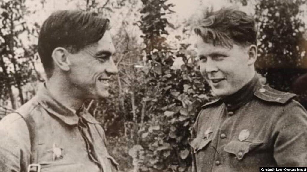 Арсений Тарковский и Александр Твардовский