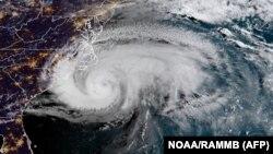 «Ֆլորենս» փոթորիկը՝ պատկերված արբանյակից, 13-ը սեպտեմբերի, 2018թ․
