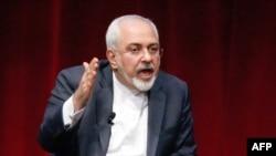 Иран сыртқы істер министрі Мохаммад Джавад Зариф. Нью-Йорк, 29 сәуір 2015 жыл.