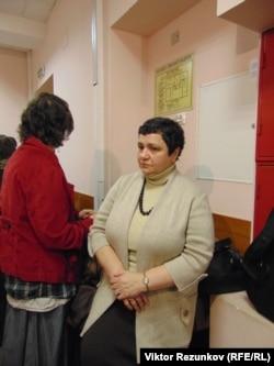 Елена Баснер в суде