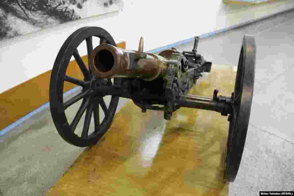 Австрийская пушка.