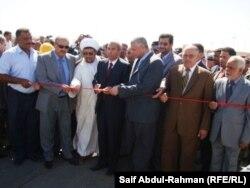 مراسم إفتتاح جسر العزة في الكوت