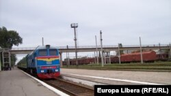 Trenul Chişinău-Odesa, staţia Tiraspol