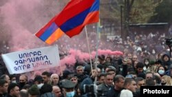 Протестите во Ереван.