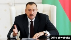 "Azerbaijani President Ilham Aliyev: ""Enough is enough"" (file photo)"