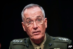 U.S. General Joseph Dunford (file photo)