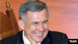 Tatarstan's President Rustam Minnikhanov (file photo)