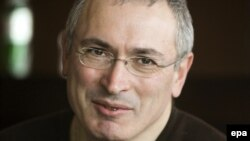 Бывший глава и основной акционер нефтяной компании ЮКОС Михаил Ходорковский.