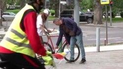 Bicicliștii din Chișinău ies din nou în stradă