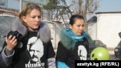 Акция правозащитников в поддержку Аскарова, 9 декабря 2011