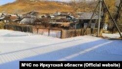 Поселок Култук в Иркутской области